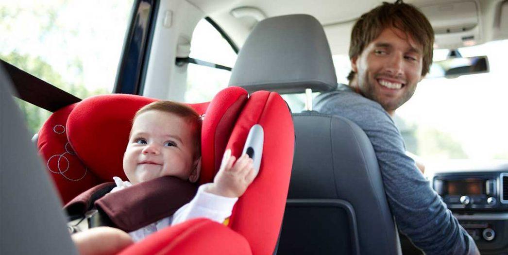 Reguli pentru siguranta in masina a bebelusului