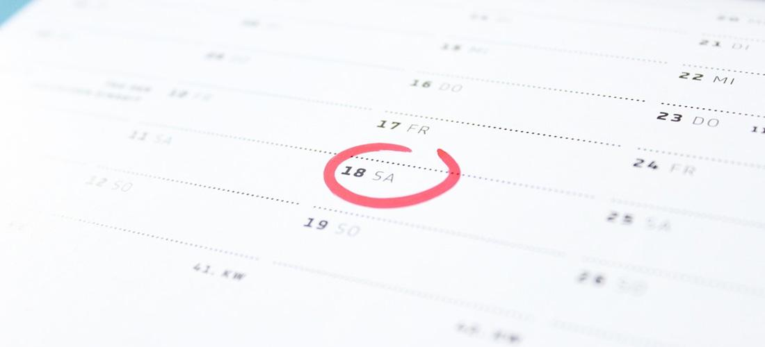 Metoda calendarului in cazul ciclului menstrual neregulat
