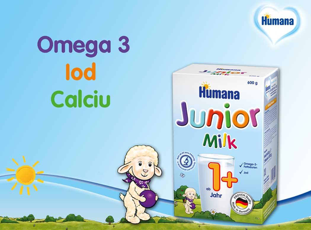 lapte praf humana