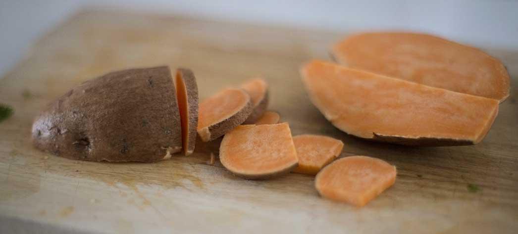 Piure de cartofi dulci reteta