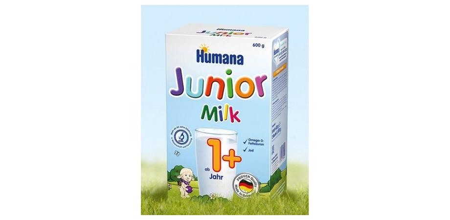 Lapte praf Humana Junior 1+