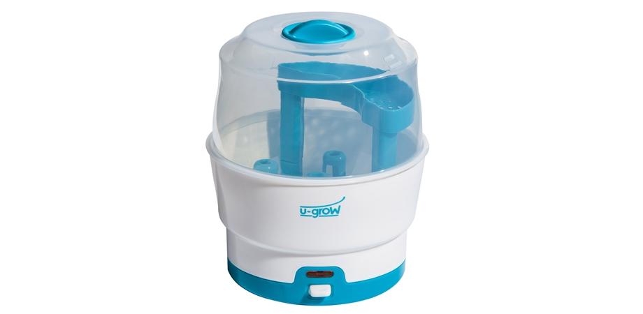 Sterilizator electric cu accesorii pentru 6 biberoane U-Grow