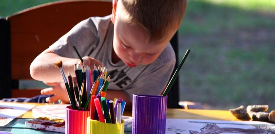copiii si pictura