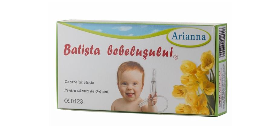 Batista bebelusul Arianna, 0 luni+