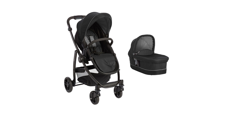 Carucior 2 in 1 Evo II Black Grey Graco