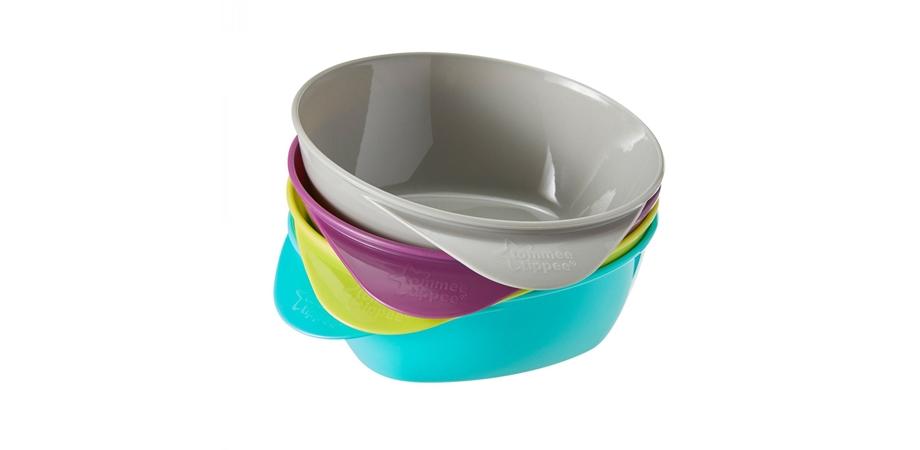 Castroane ergonomice Explora Tommee Tippee, multicolor