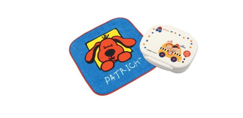 Cutie pentru gustari + prosopel Patrick K's Kids