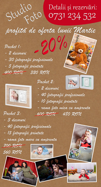 studio foto copii