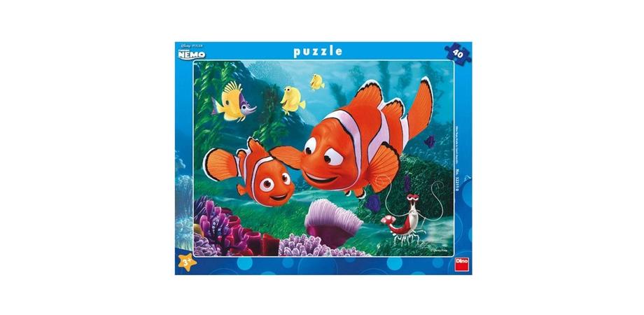 Puzzle Aventurile lui Nemo, 40 piese, Dino Toys