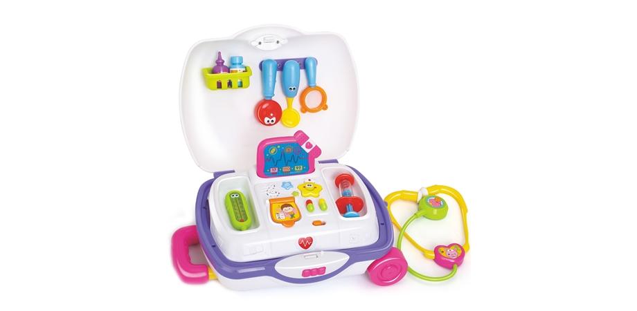 Servieta doctorului Hola Toys, cu sunete si lumini