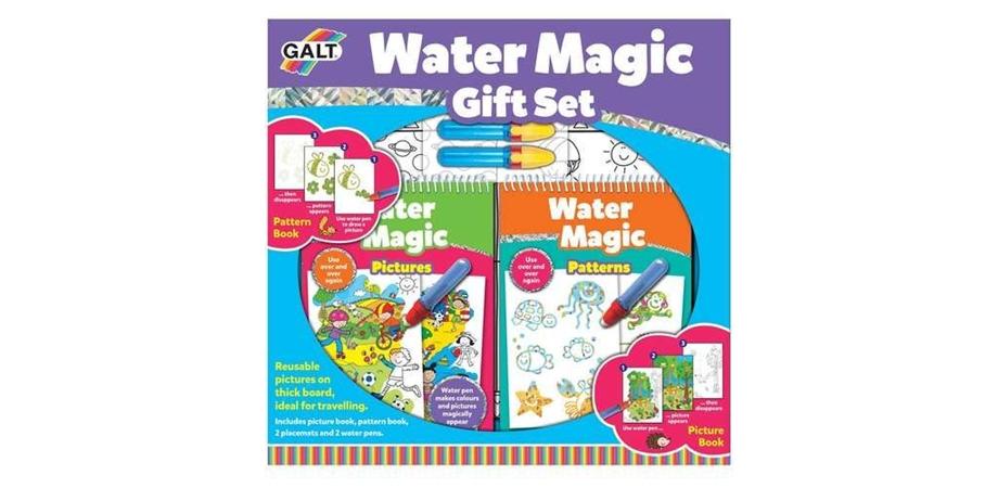 Set carti de colorat cu apa CADOU Water Magic Galt