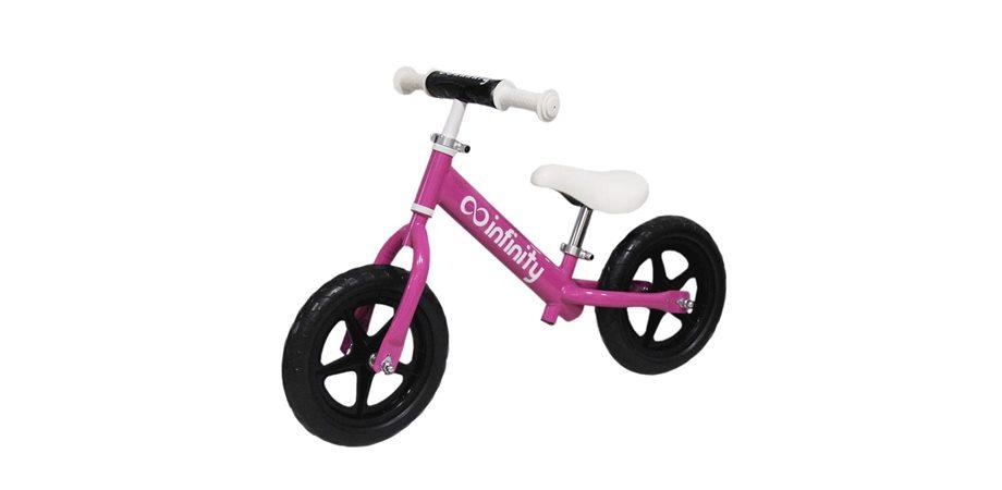 Bicicleta fara pedale cadru otel Infinity