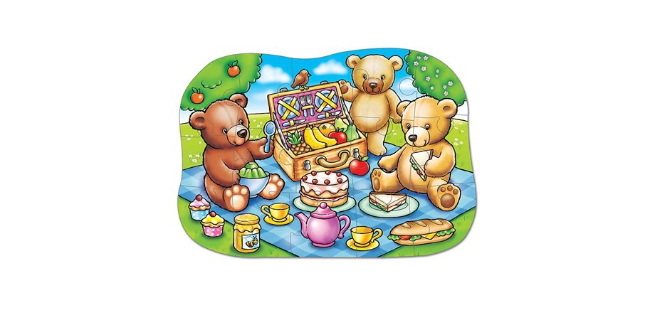 Puzzle Teddy Bears Picnic