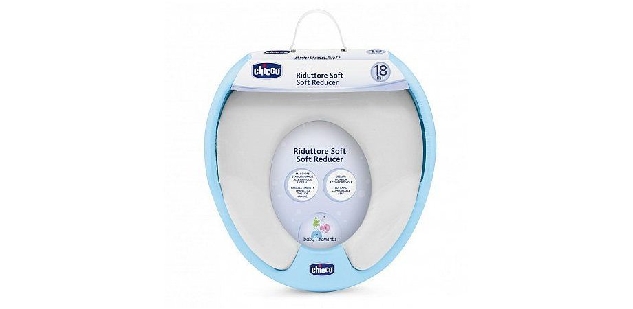 Reductor Chicco Wc Soft, 18 luni+