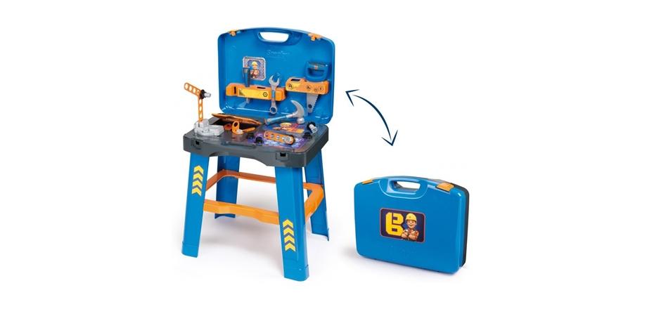Banc de lucru Bob the Builder + 22 accesorii Smoby