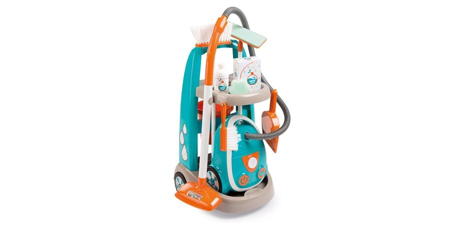 Set aspirator electronic + 8 accesorii Aqua Clean Smoby