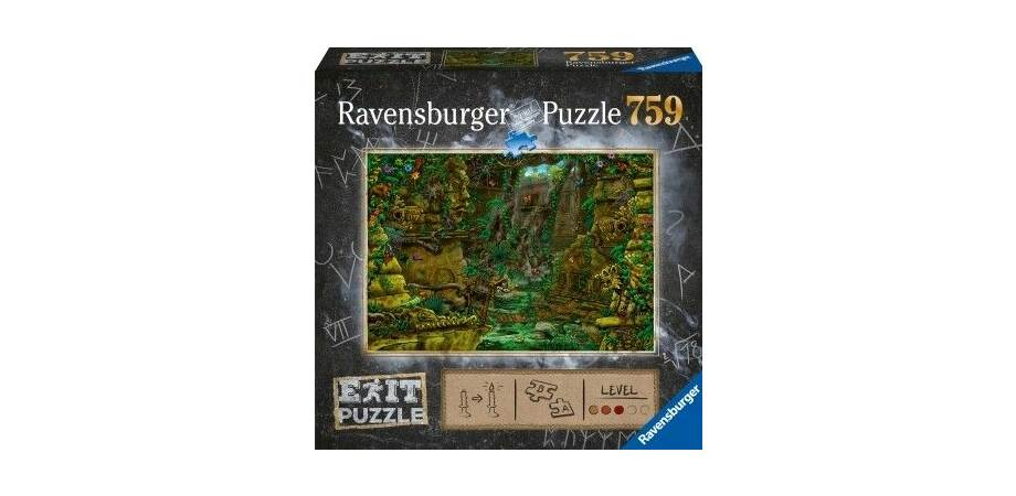 Puzzle Exit 2 Templul ankor Ravensburger, 759 piese, 12 ani+