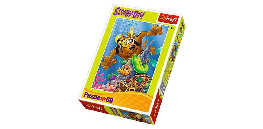 Puzzle Scufundari cu Scooby-Doo 60 piese Trefl