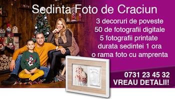 sedinte foto de Craciun - studio foto bucuresti