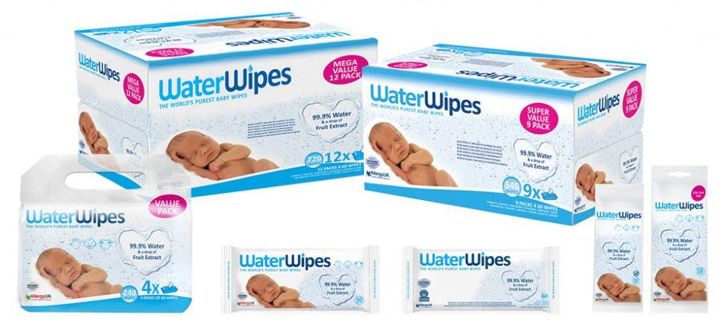 waterwipes gama de produse