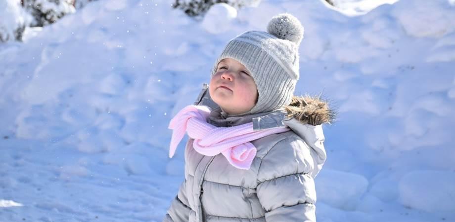 copiii si activitatile de iarna
